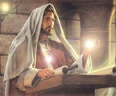 imagenes de jesus leyendo en la sinagoga jesucristo