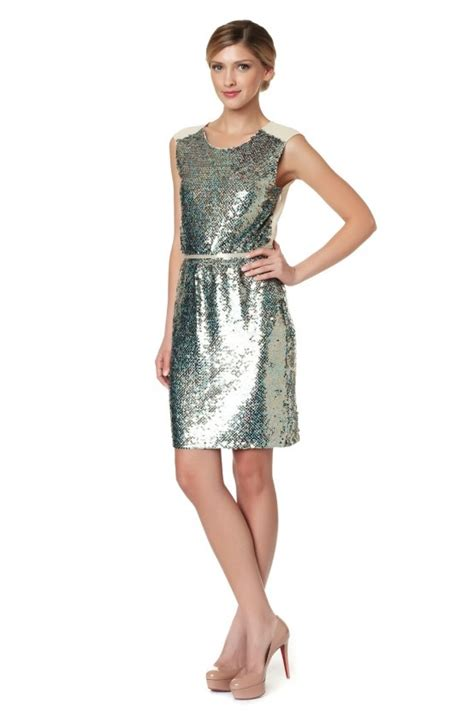 Hairstyles For Christmas Party Dresses | glittering sequin dress styles for holiday party season