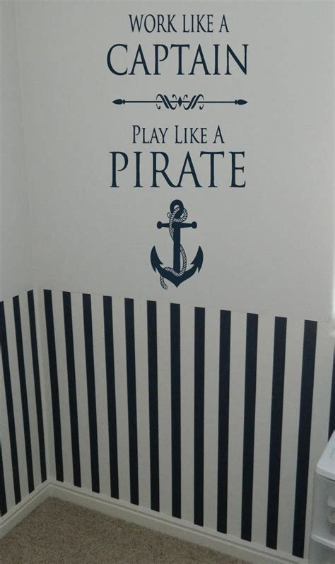 captain of a boat quotes work like a captain play pirate nautical anchor boat sail