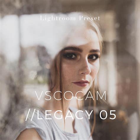 tutorial vscocam lightroom vsco cam legacy 05 inspired lightroom preset vsco cam