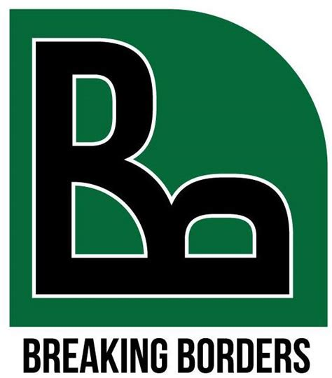 Bordir Logo breaking borders