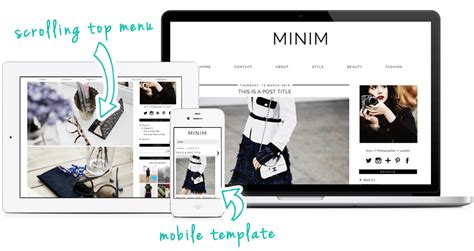 templates for blogger minimalist minimalist blogger templates www pixshark com images