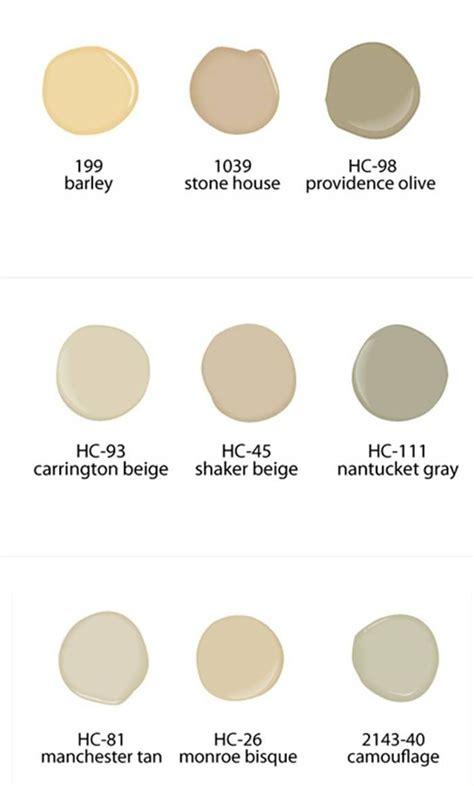 neutral paint colors from benjamin paints color