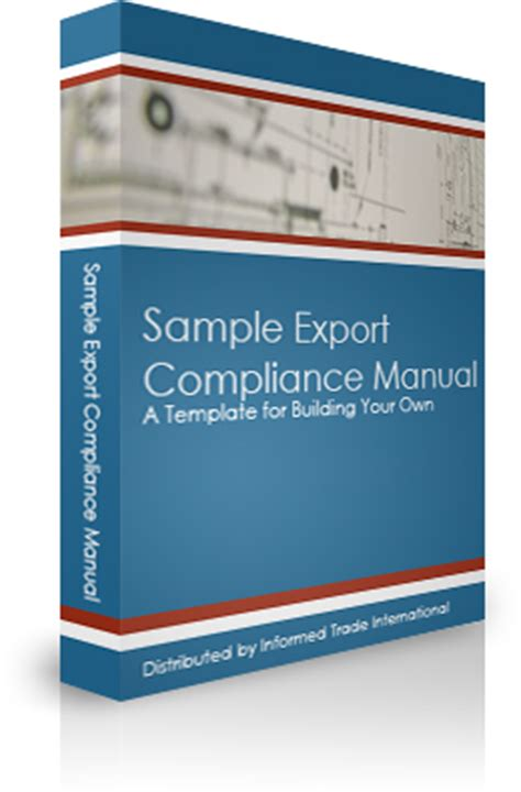 Sle Export Compliance Manual Itar Export Compliance Import Compliance Manual Template