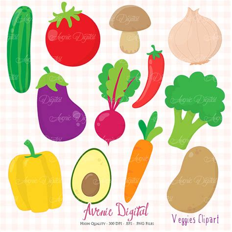 printable vegetable stickers veggies clipart scrapbook printable planner stickers clip art