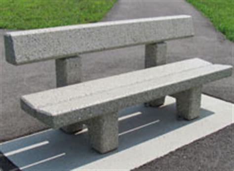 concrete benches with backs benches w backs archives doty concrete