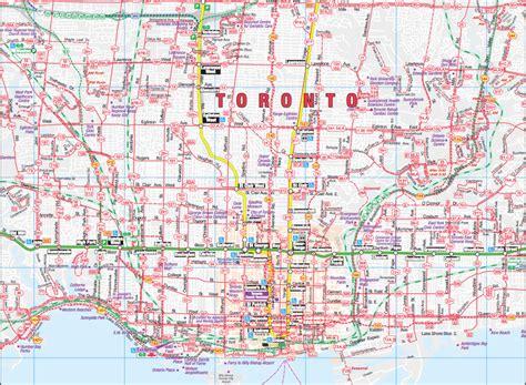 map of toronto toronto map map