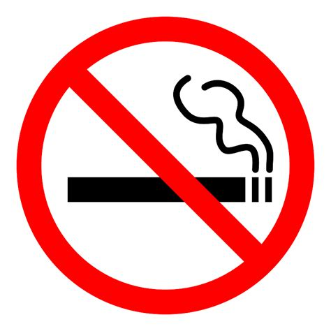 no smoking sign large image gallery no cigarettes