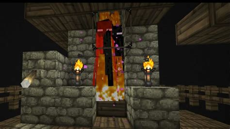 enderman spawner trap    minecraft lp