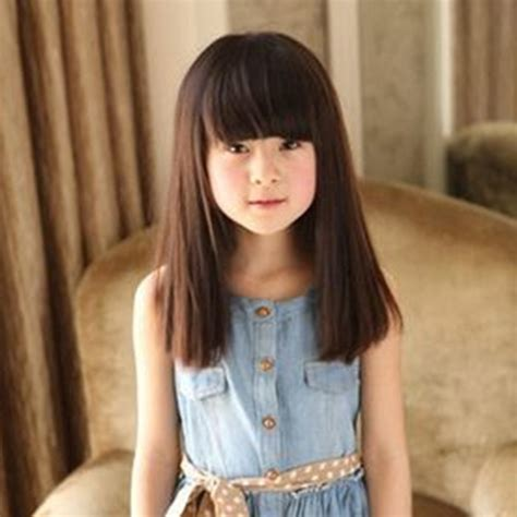 childrens haircuts bangs children girls haircuts with bangs www pixshark com