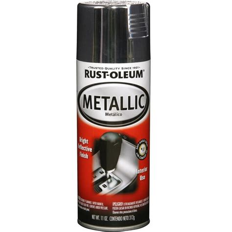 Deplus Spray Paint Coating Bright Black Rust Oleum Automotive 11 Oz Gloss Silver Metallic Spray Paint 6 Pack Shop Your Way