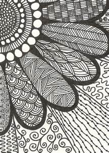 how to draw a doodle flower black and white doodle drawing flower image 2597797