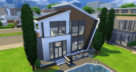 Design A Home Game Free by Mod The Sims The Modern Basegame Mansion Nocc