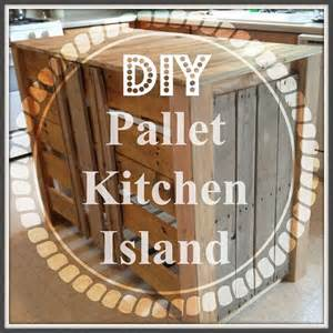 hometalk how to make a pallet kitchen island for less