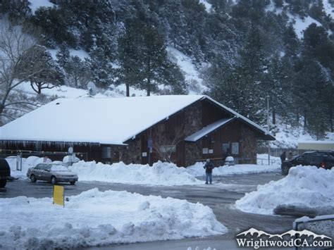 Winter Post Office by Wrightwood In Winter Photo Gallery For Wrightwood Ca