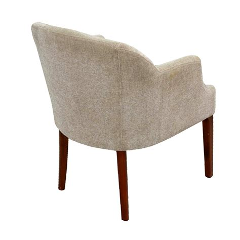 Armchair Legs by Vintage Lounge Arm Chair Wood Legs Knoll Style Ebay