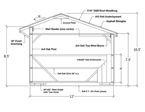 Keystone Floor Plans by Run In Sheds Horse Shed Design Amp Shed Plans