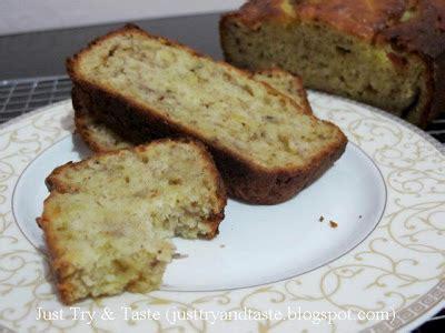 Banana Bread Cake Pisang Villa resep bolu pisang banana bread just try taste