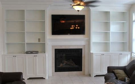 bookcases around fireplace custom made bookcases by stan loskot woodworking