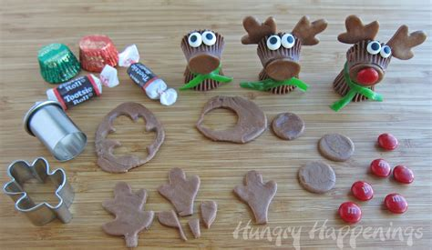 edible crafts for to make resee s cup rudolph the nose reindeer treats cafemom