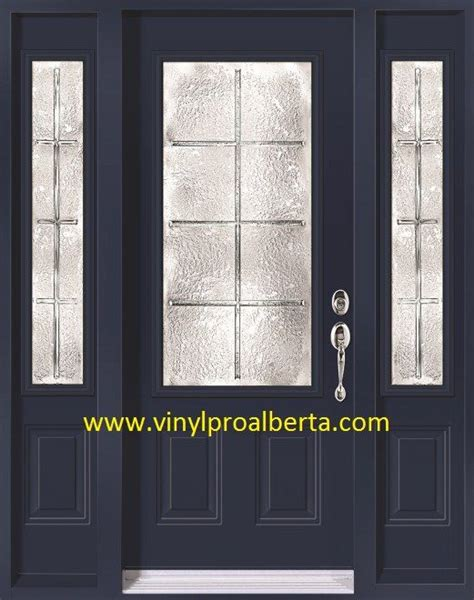 Steel Front Door With Sidelights This Is What I Think Wud Suit Our House Entry Doors With Sidelights Doors Steel Entry Doors