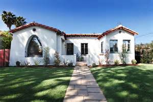 Home Front Design Build Los Angeles by A Spanish Style Bungalow After Mediterranean Exterior