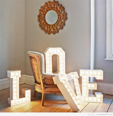 decorar paredes con fotos y luces letras grandes para decorar las paredes de casa 161 de