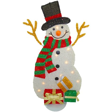 national tree co decorative d 233 cor snowman christmas