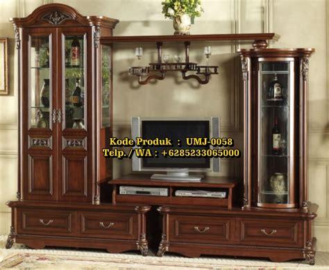 Almari Hias Jati Furniture Almari Lemari Hias jual furniture almari hias bufet tv jati jepara ukiran harga terjangkau call 6285233065000