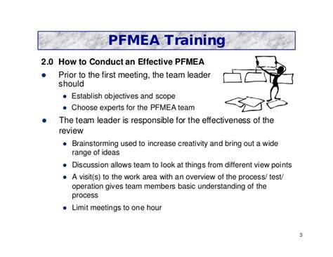pfmea process fmea