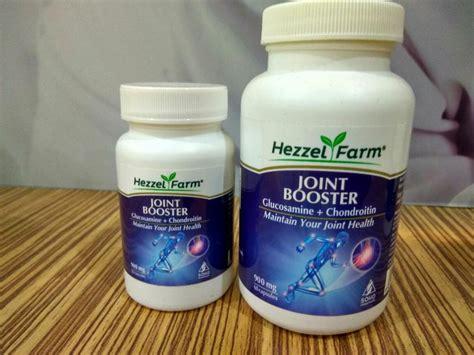 Suplemen Osteoarthritis hezzel farm joint booster merupakan suplemen yang mengandung