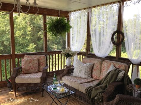screen porch decorating ideas spring porch decor ideas 11 magnolia lane