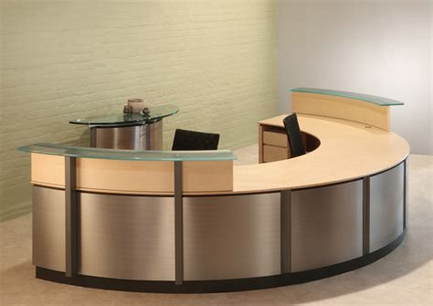Semi Circle Reception Desk Reception Desks Stoneline Circular Reception Desk