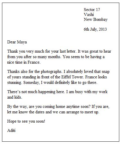 business english writing letter writing tips informal