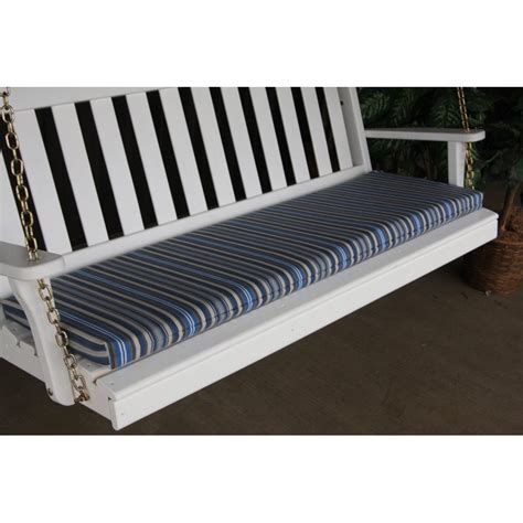 bench swing cushion 6 ft bench porch swing glider outdoor cushion