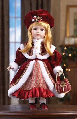 sweet sabrina collectible holiday porcelain doll christmas dolls porcelain dolls victorian dolls