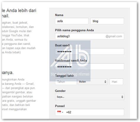 membuat gmail sign up cara membuat email gmail asfa blog