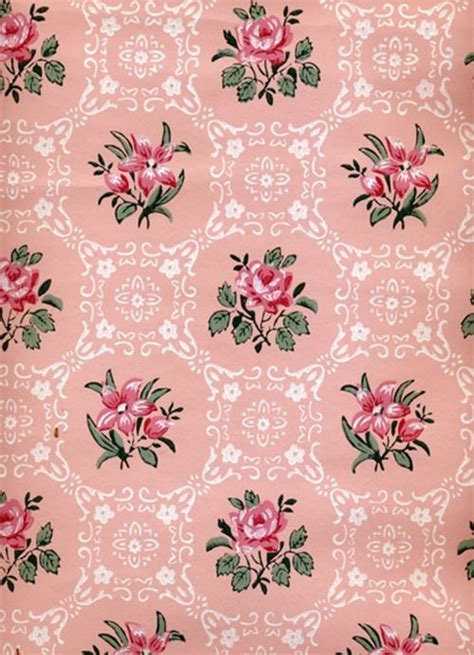 wallpaper pattern pink rose cute vintage backgrounds tumblr google search cute