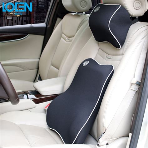 pillow car high quality car pillow set car headrest neck support