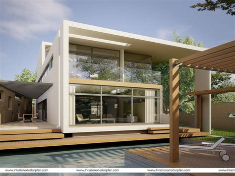 Exterior Home Design For Small House In India Interior Exterior Plan A Tryst With Technology