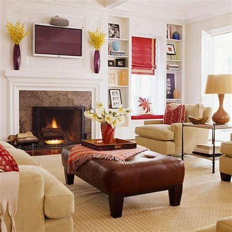 Shaped Living Room Fireplace How To Arrange An Oddly Shaped Living Room An