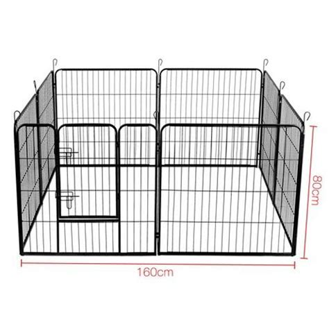 large puppy playpen large small pet playpen 80cm x 8 panel pet small pet playpen my