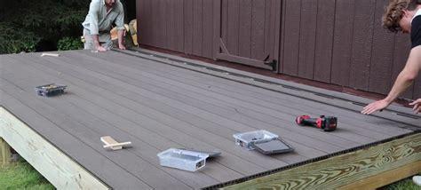 install composite decking jon peters art home