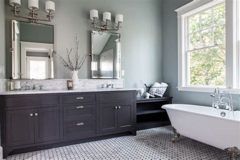 elegant master bath traditional bathroom portland