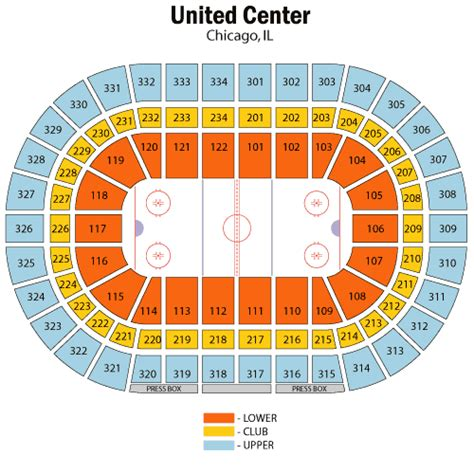 united center seating map chicago blackhawks april 29 tickets chicago united center chicago blackhawks tickets for april