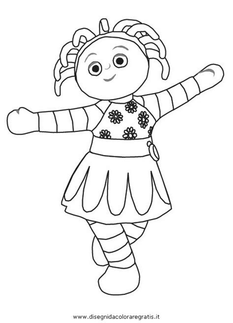 Free Coloring Pages Iggle Piggle Colouring Pages