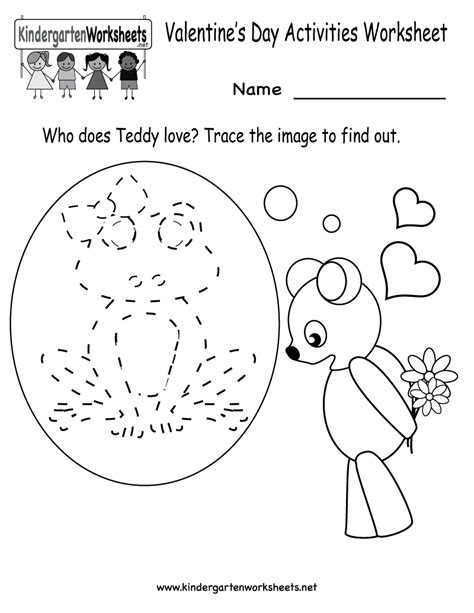 day kindergarten activities free printable s day activities worksheet for