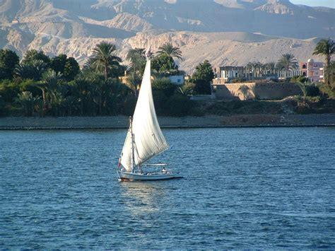 sailboat on the nile robert striptoegypt griffinhousehold