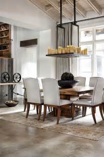 Rustic Modern Dining Room Tables How To Blend Modern And Country Styles Within Your Home S Decor