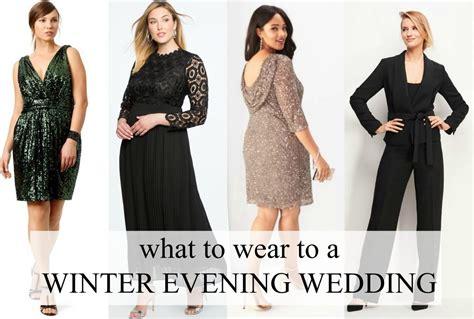 Wedding Attire In November by What To Wear To A Winter Evening Wedding Wardrobe Oxygen
